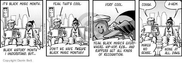 Comic Strip Darrin Bell  Candorville 2007-06-21 yeah