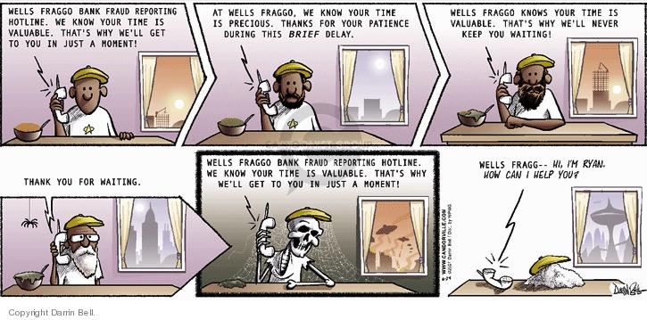 Cartoonist Darrin Bell  Candorville 2007-06-24 wait