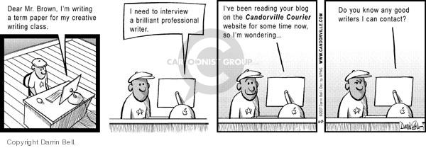 Comic Strip Darrin Bell  Candorville 2007-06-25 good