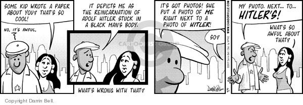 Cartoonist Darrin Bell  Candorville 2007-06-27 software