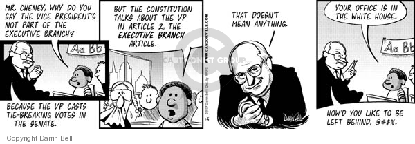 Comic Strip Darrin Bell  Candorville 2007-07-05 Constitution