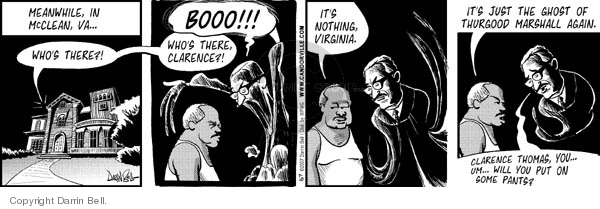 Comic Strip Darrin Bell  Candorville 2007-07-10 nudity