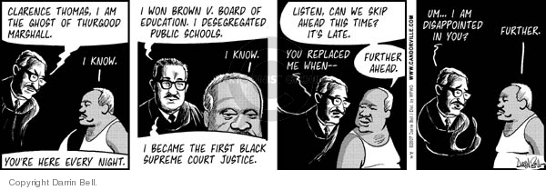 Comic Strip Darrin Bell  Candorville 2007-07-11 law school