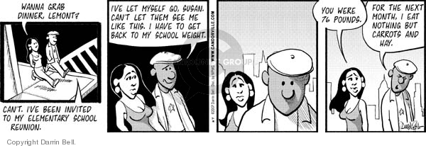 Comic Strip Darrin Bell  Candorville 2007-07-18 carrot