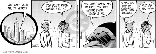 Comic Strip Darrin Bell  Candorville 2007-07-24 hide