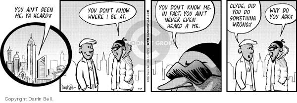 Comic Strip Darrin Bell  Candorville 2007-07-24 hide