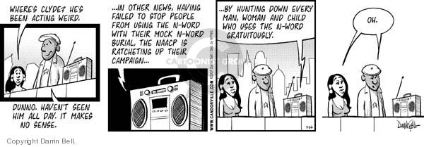 Comic Strip Darrin Bell  Candorville 2007-07-26 hide