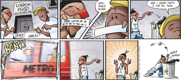 Comic Strip Darrin Bell  Candorville 2007-07-29 prediction