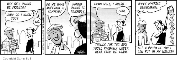 Comic Strip Darrin Bell  Candorville 2007-07-30 common