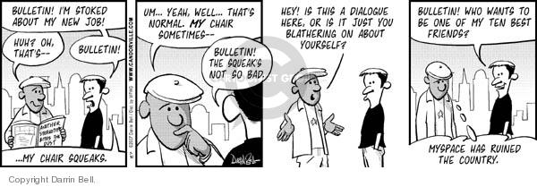 Comic Strip Darrin Bell  Candorville 2007-07-31 yeah
