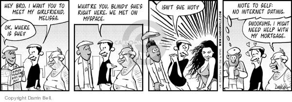 Comic Strip Darrin Bell  Candorville 2007-08-01 beauty