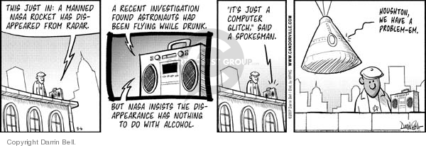 Comic Strip Darrin Bell  Candorville 2007-08-06 alcohol