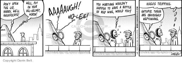 Comic Strip Darrin Bell  Candorville 2007-08-07 martian