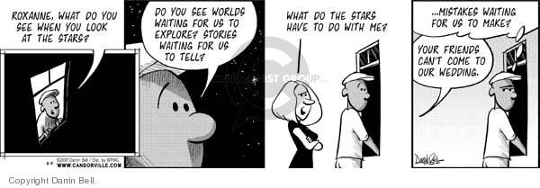 Comic Strip Darrin Bell  Candorville 2007-08-10 star