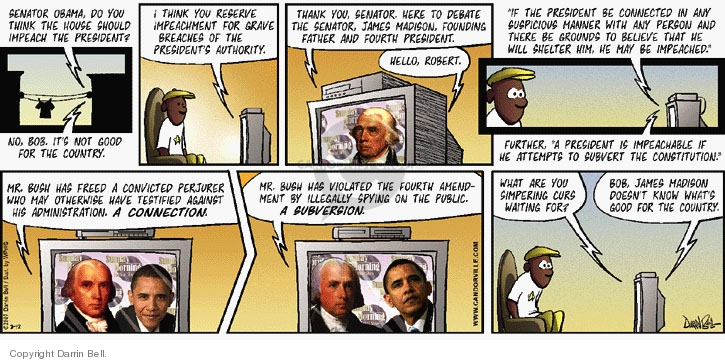 Comic Strip Darrin Bell  Candorville 2007-08-12 Constitution