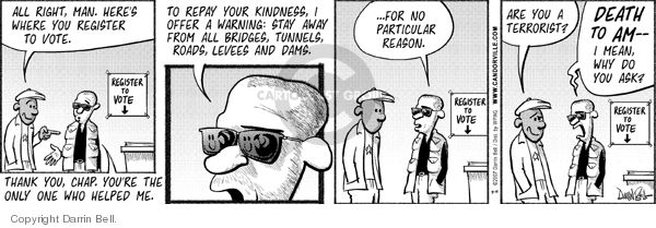 Comic Strip Darrin Bell  Candorville 2007-08-14 kindness