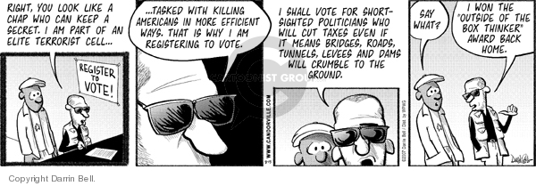 Comic Strip Darrin Bell  Candorville 2007-08-15 terror