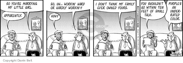 Comic Strip Darrin Bell  Candorville 2007-08-21 engagement