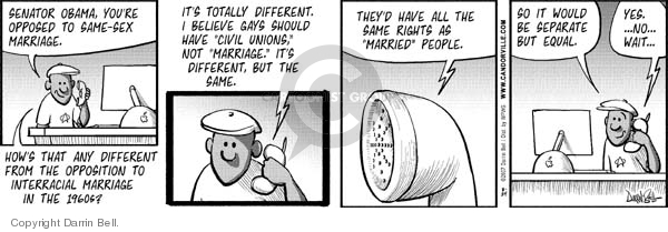 Comic Strip Darrin Bell  Candorville 2007-08-24 equal rights