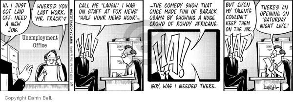 Comic Strip Darrin Bell  Candorville 2007-08-27 Fox News