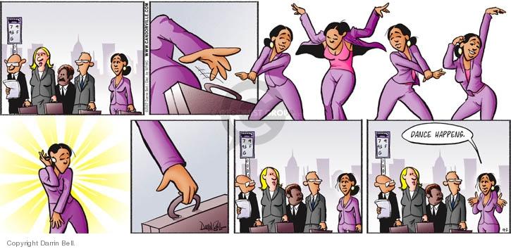 Cartoonist Darrin Bell  Candorville 2007-09-02 wait