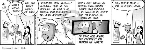 Cartoonist Darrin Bell  Candorville 2007-09-07 viewpoint