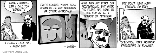 Comic Strip Darrin Bell  Candorville 2007-09-21 Federal government
