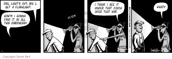 Comic Strip Darrin Bell  Candorville 2007-09-26 search