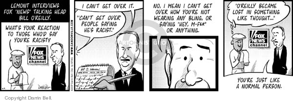 Comic Strip Darrin Bell  Candorville 2007-10-09 Fox News