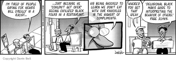 Comic Strip Darrin Bell  Candorville 2007-10-11 Fox News