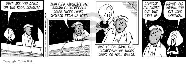 Comic Strip Darrin Bell  Candorville 2007-10-15 bigger