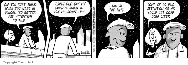 Comic Strip Darrin Bell  Candorville 2007-10-16 anticipation