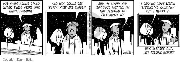 Comic Strip Darrin Bell  Candorville 2007-10-19 star