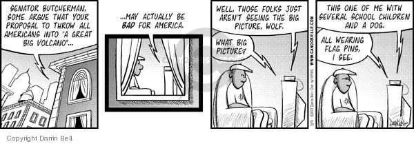 Comic Strip Darrin Bell  Candorville 2007-10-23 big government