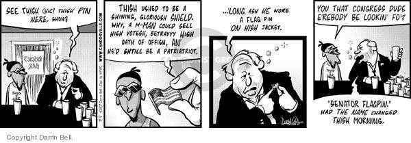 Comic Strip Darrin Bell  Candorville 2007-10-26 bar
