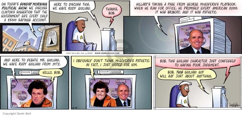 Comic Strip Darrin Bell  Candorville 2007-10-28 strategy