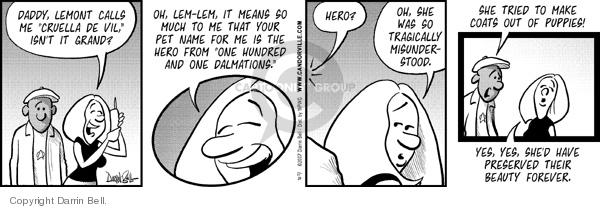 Comic Strip Darrin Bell  Candorville 2007-11-14 call