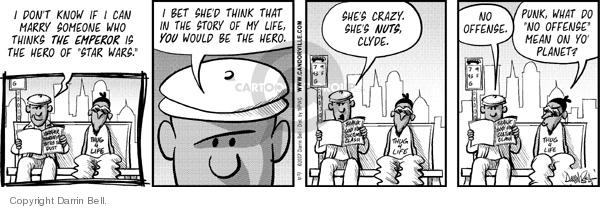 Comic Strip Darrin Bell  Candorville 2007-11-16 star