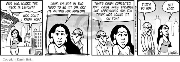 Comic Strip Darrin Bell  Candorville 2007-11-29 hit