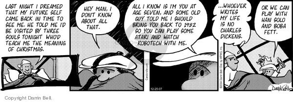 Comic Strip Darrin Bell  Candorville 2007-12-25 star