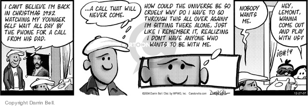 Comic Strip Darrin Bell  Candorville 2007-12-27 December