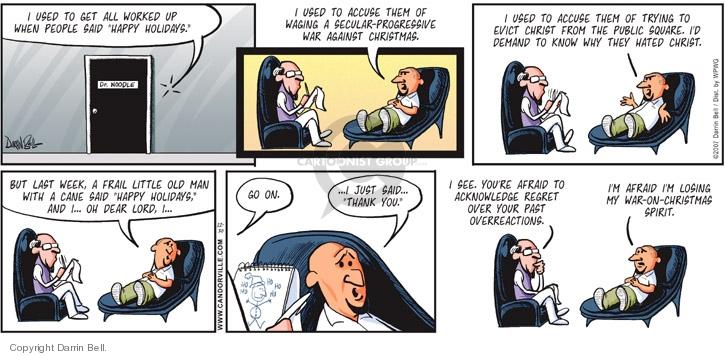 Comic Strip Darrin Bell  Candorville 2007-12-30 progressive