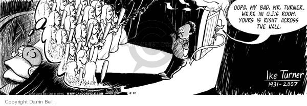 Comic Strip Darrin Bell  Candorville 2007-12-31 1930s