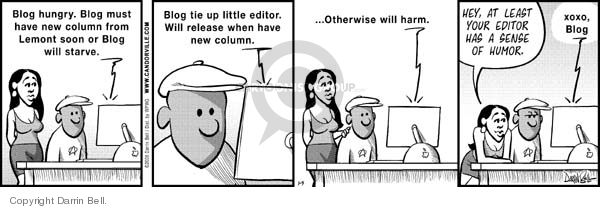 Comic Strip Darrin Bell  Candorville 2008-01-05 editor