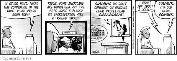 Comic Strip Darrin Bell  Candorville 2008-01-08 secretary