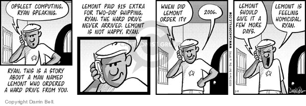 Comic Strip Darrin Bell  Candorville 2008-01-09 2008