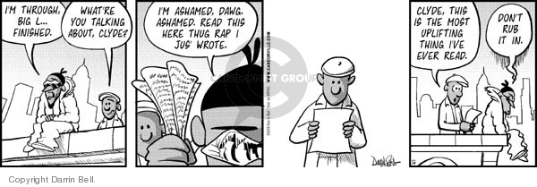 Comic Strip Darrin Bell  Candorville 2008-01-14 shameful