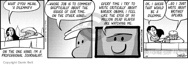 Comic Strip Darrin Bell  Candorville 2008-01-25 election