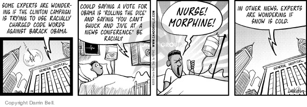 Comic Strip Darrin Bell  Candorville 2008-01-30 election