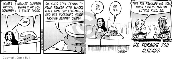 Comic Strip Darrin Bell  Candorville 2008-02-04 election